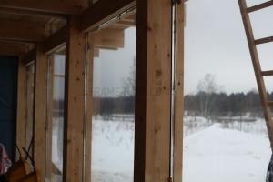 Финские коттеджи из клееного бруса, дома фахверк