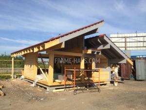 Строительство одноэтажных домов из бруса под ключ