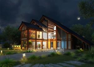 Особенности проектов стеклянных домов