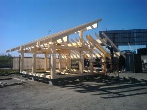 Строительство одноэтажного коттеджа